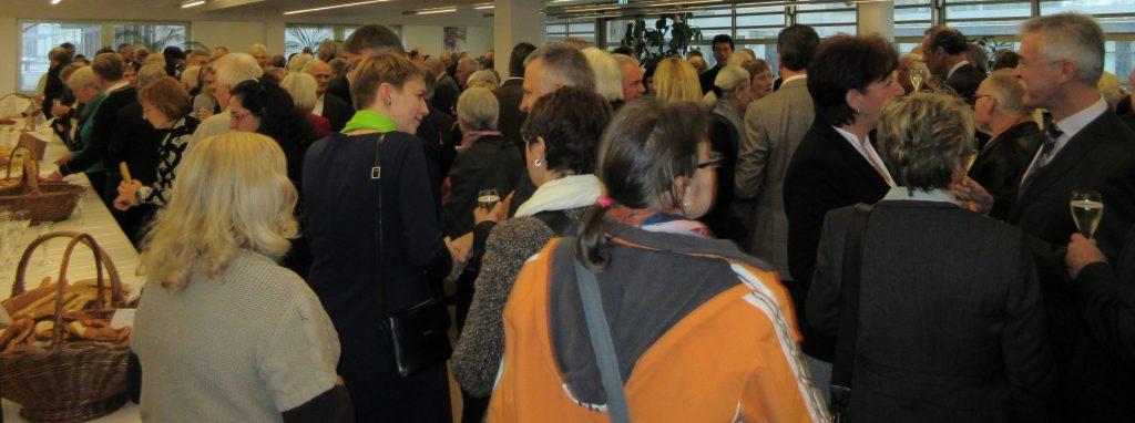 Zahlreiche Gäste beim Neujahrsempfang (Foto: ag-kowi)