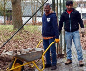 Sehr zufrieden ist der Turnverein Nellingen mit seinen engagierten Helfen aus Pakistan. Foto: TV Nellingen